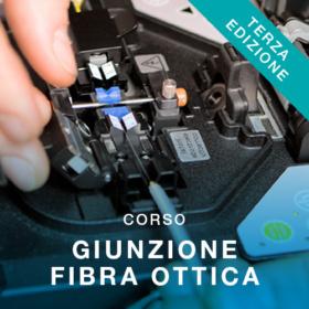 corso professionale giunzione fibra ottica a fusione - vit roma